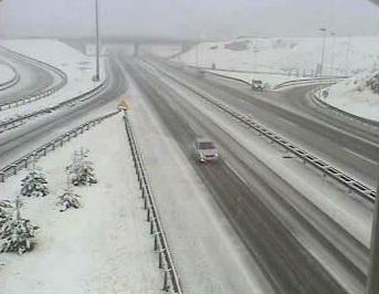 Snijeg pada u Gorskom kotaru, ponesite zimsku opremu