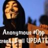 Anonymousi žele izbrisati Izrael s interneta
