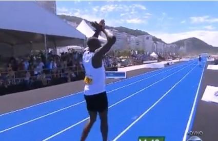 Boltu je falilo sedam stotinki do svjetskog rekorda