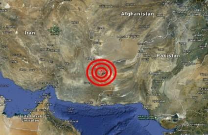 Strašno razaranje u Iranu