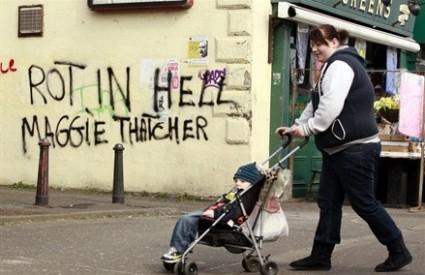 Puno je onih koji su sretni što Maggie Thatcher više nema