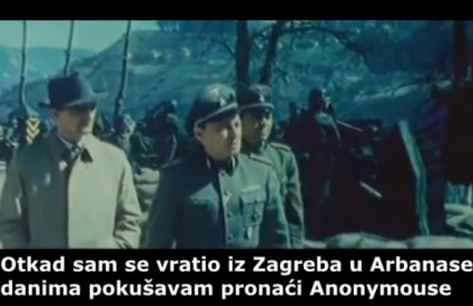 Sjajan video zadarskih Anonymousa