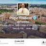 Papa Franjo ima 6 milijuna sljedbenika na Twitteru