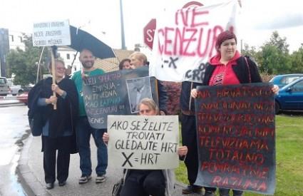 Occupy HRT u akciji