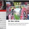 Sir Alex Ferguson odlazi u mirovinu