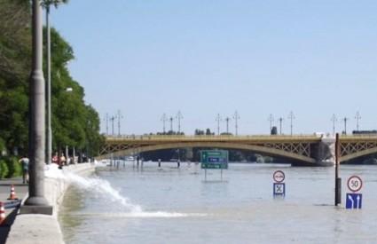 Danas se očekuje vrhunac vodenog vala u Budimpešti