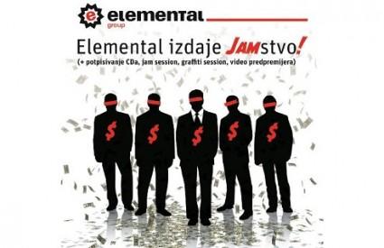 Elemental radi show na Trgu Burze