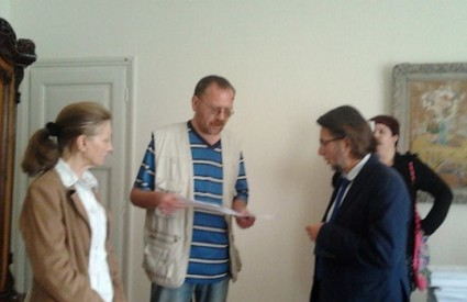 Predavanje predstavke Branku Vukšiću