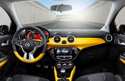 Opel Adam iznutra