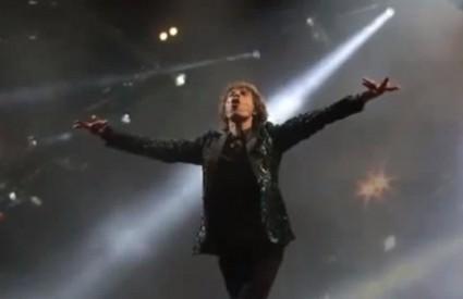Jagger prvi puta na stageu Glastonburyja
