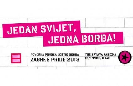 Zagreb Pride po dvanaesti put