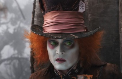 Johhny Depp kao Ludi šeširdžija