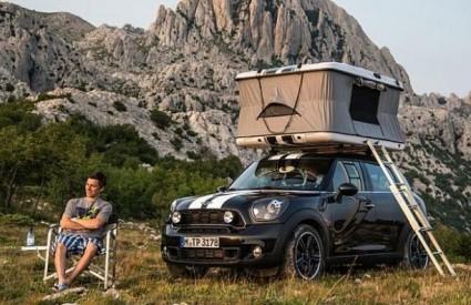 Mini kao kamper na Velebitu