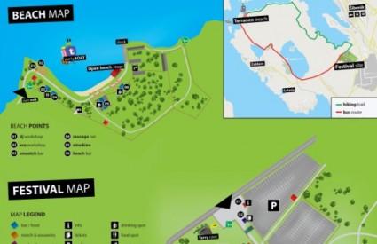 Mapa Terraneo festivala
