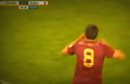 Mujanović postiže pobjedonosni gol
