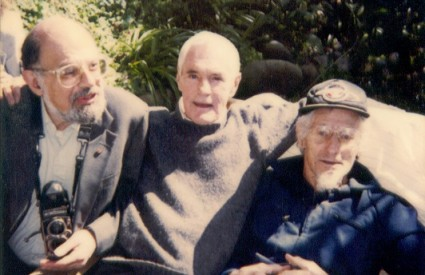 Leary s legendama Ginsbergom i Lillyjem