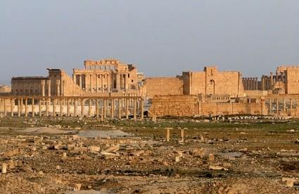 Hram u Palmyri je u opasnosti