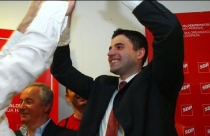 Bernardić ostao na čelu zagrebačkog SDP-a