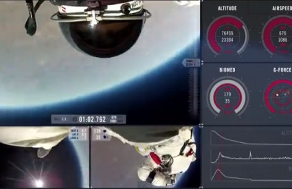 Nevjerojatan skok Felixa Baumgartnera