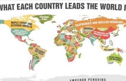 Smiješna karta svijeta