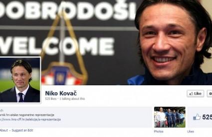 Niko Kovač je odmah promijenio status na Fejsu :)