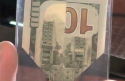 Nuklearni udar na novčanici od 100 dolara