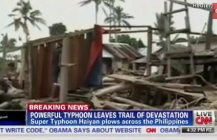 Strašno razaranje na Filipinima