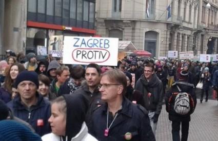 Marš je privukao publiku