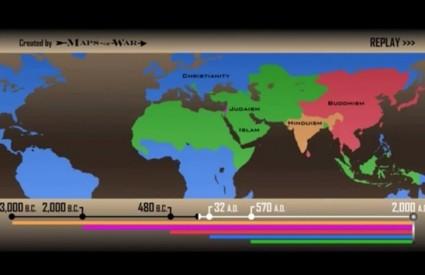 Kako su rasle i razvijale se religije svijeta