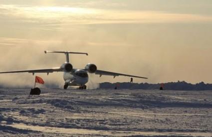 Antonov na Sjevernom polu
