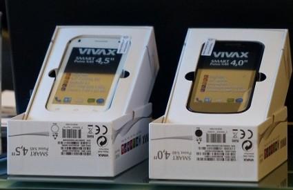 Vivax snažno ulazi na tržište smartphona