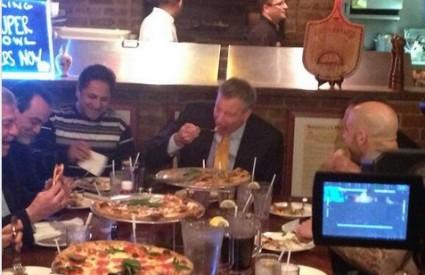 Bill de Blasio jede pristojno - i to je problem?