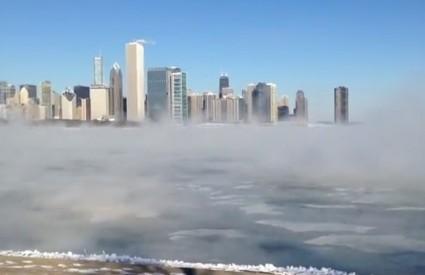 Led u Chicagu, tratinčice u Norveškoj