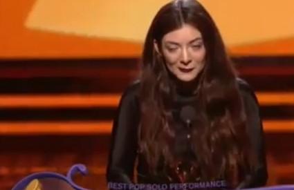Lorde poharala Grammyje