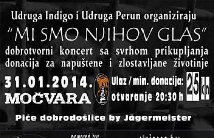 Humanitarni koncert za životinje
