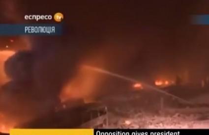 Nasilje eskalira u Ukrajini