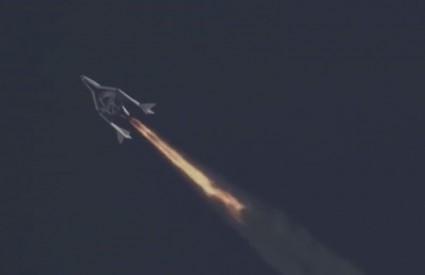 SpaceShipTwo za sada radi bez greške