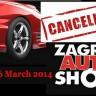 Otkazan Zagreb Auto Show 2014.