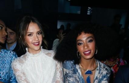 Jessica Alba i Solange Knowles