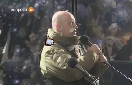 Turčinov na Majdanu