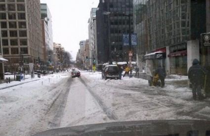 Washington pod novim snijegom
