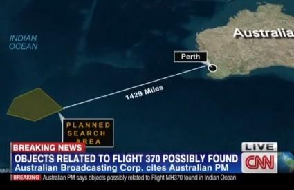 Je li pronađen nestali avion?
