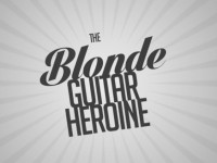 The Blonde Guitar Heroine - Clocks on iPad