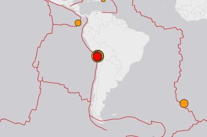 Serija potresa trese Čile