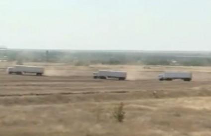 Ruski konvoj započeo s ulaskom u Ukrajinu