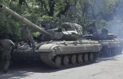Ruski tenkovi u Ukrajini nisu znak dobre volje