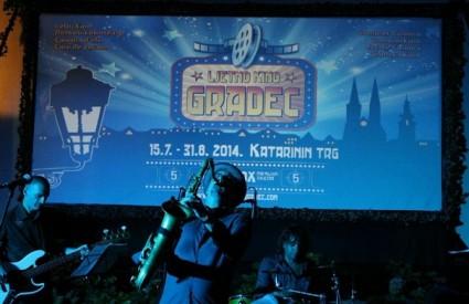 Pljusak dobre glazbe na zatvaranju Ljetnog kina Gradec