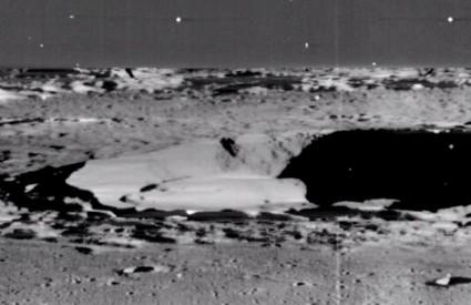 Oni se parkirali, a Lunar Orbiter III snimio ...