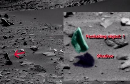 Stvari na Marsu baš i ne bi trebale lebdjeti