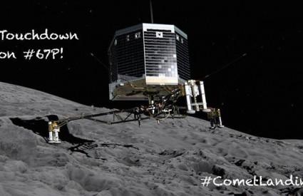 Što je Philae otkrio na kometu?